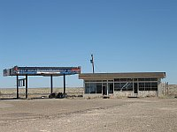 USA - Glenrio TX - Abandoned Service Station (21 Apr 2009)